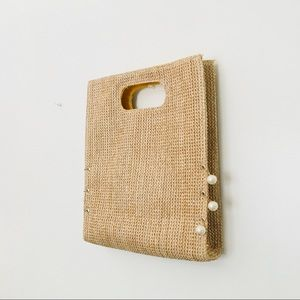 Handbags - STRAW TOTE BAG